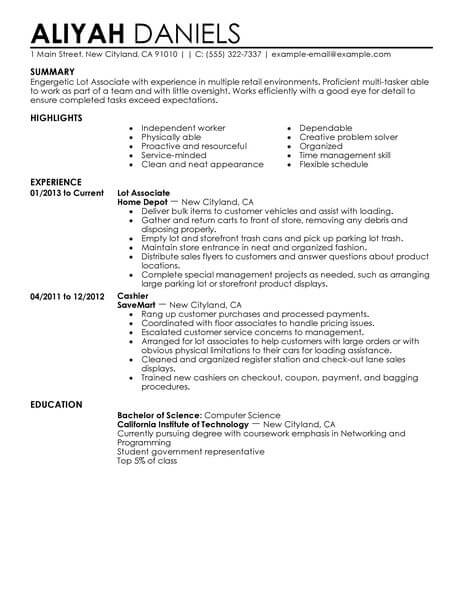 ready resume format business operations specialist pursuing degree example basic skills Resume Part Time Job Resume Template