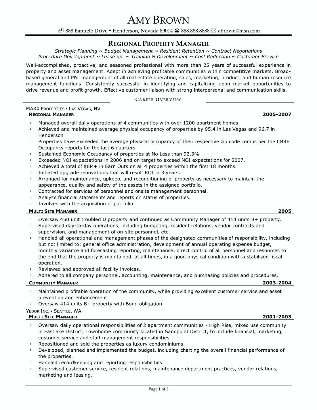 regional property manager resume samples commercial interested in working pro examples Resume Property Manager Resume Examples