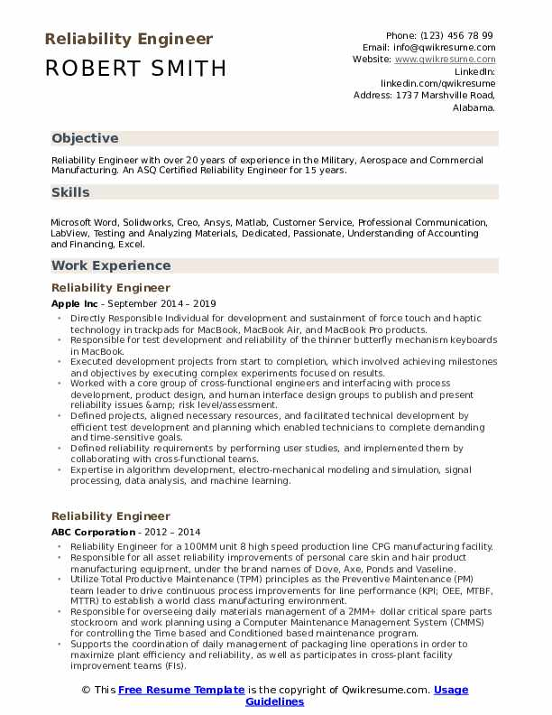 reliability engineer resume samples qwikresume signal processing pdf qr code generator Resume Generator Service Engineer Resume