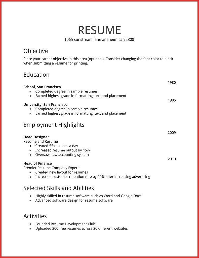 resume examples hobbies templates good for google drive support ot staff nurse doctor of Resume Hobbies Good For Resume