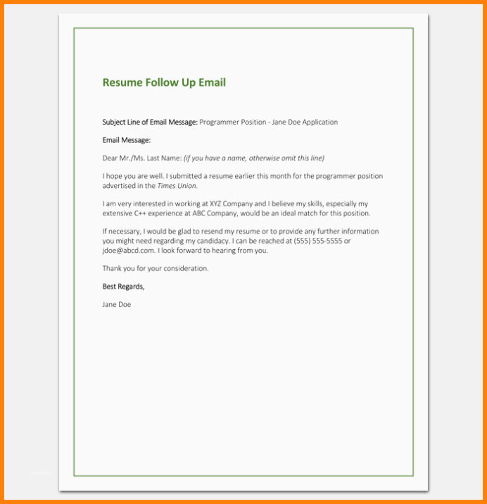resume follow up email template danetteforda perfect letter formats samples amp examples Resume Follow Up Sample Email After Resume