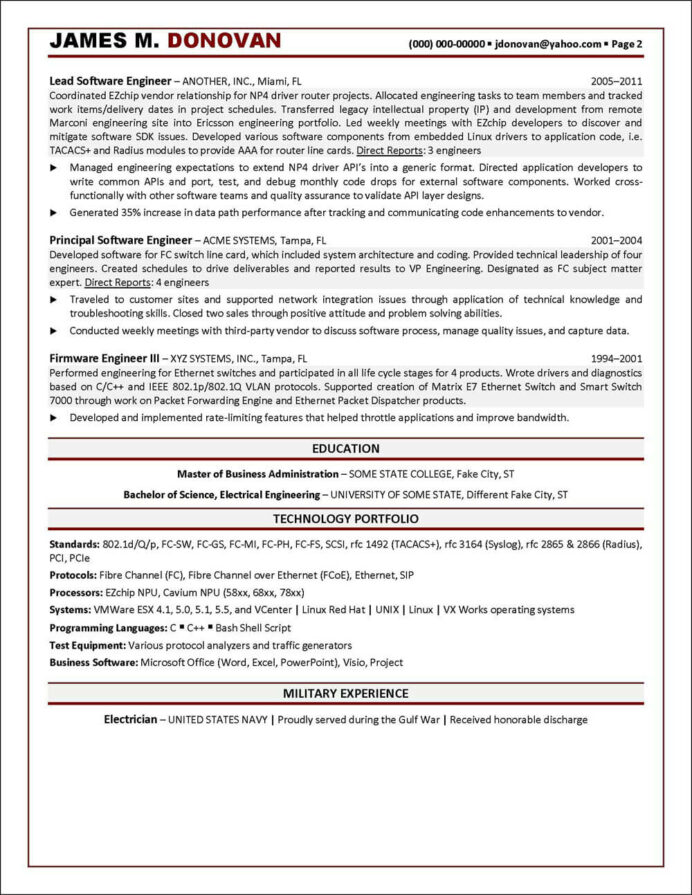 resume for ex servicemen indian army software engineering manager operations summary Resume Resume For Ex Servicemen Indian Army