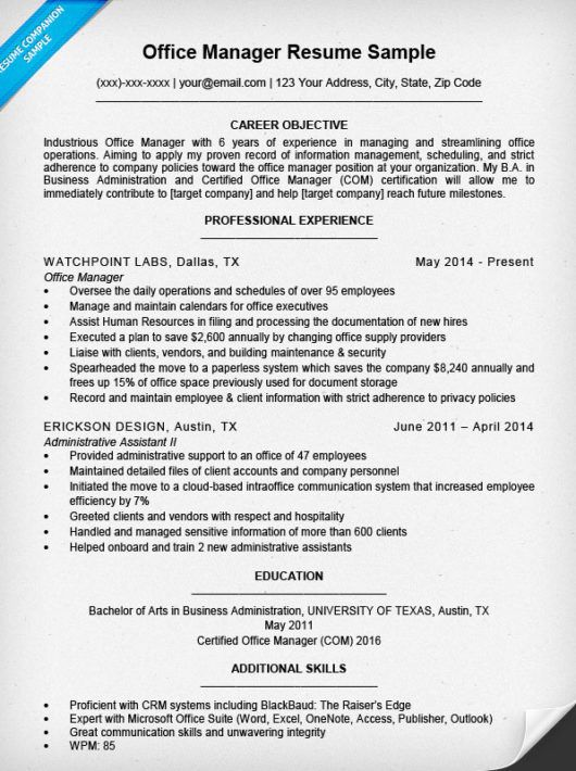resume for medical office manager position samples self employed contractor doctor format Resume Medical Office Manager Resume Samples