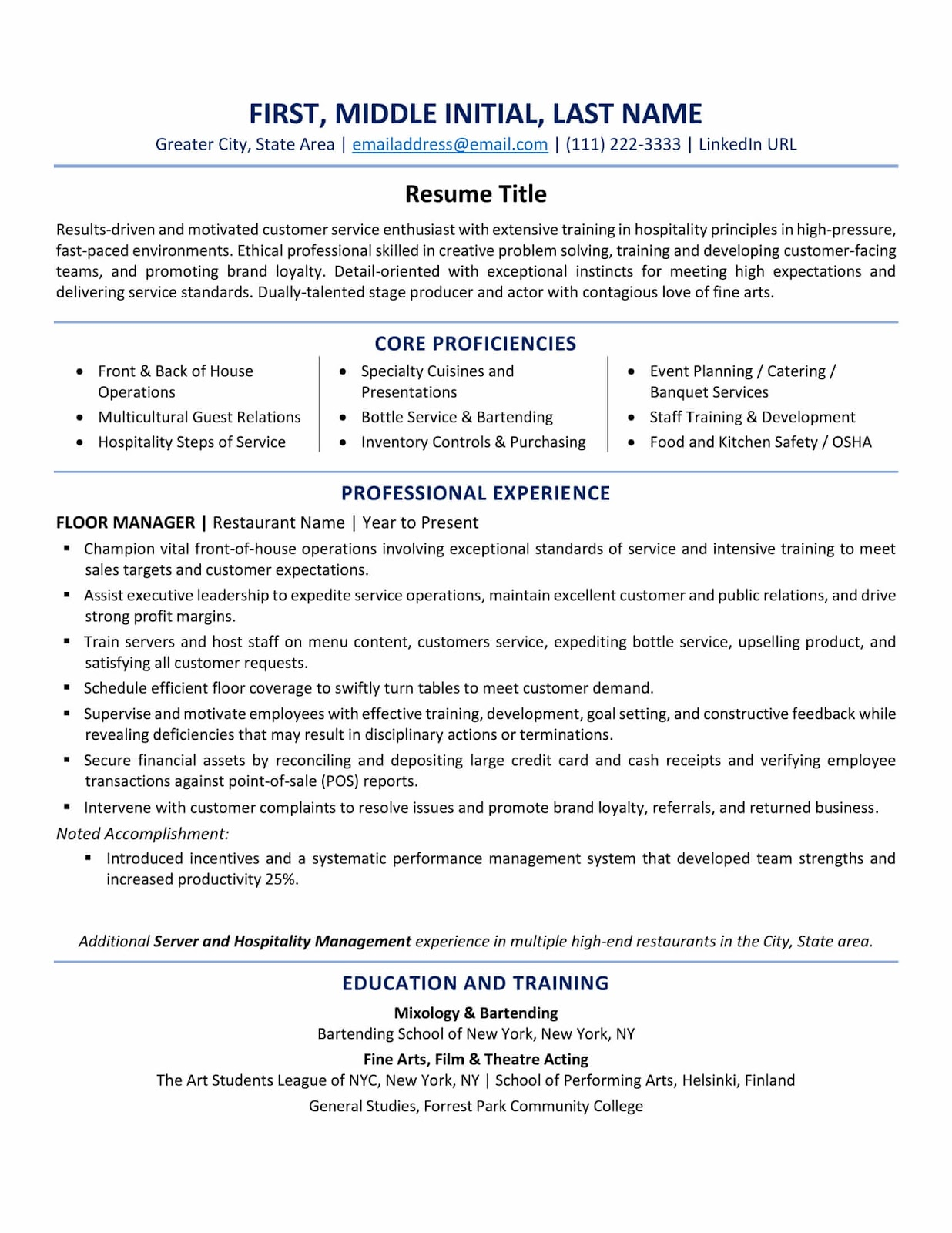 resume format best tips and examples updated top phone number builder zety hobbies for Resume Top Resume Phone Number