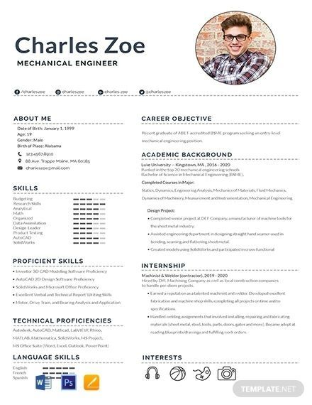 resume format for freshers mechanical engineers best examples engineering profile samples Resume Best Mechanical Engineering Resume For Freshers