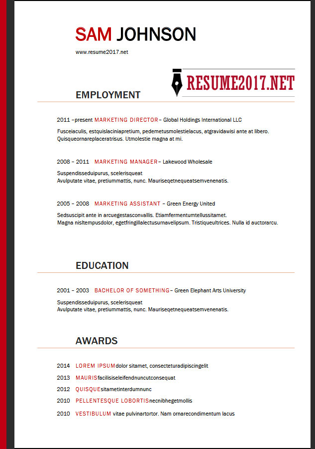 resume format latest templates in word targeted template sample architecture issuu boston Resume Targeted Resume Template