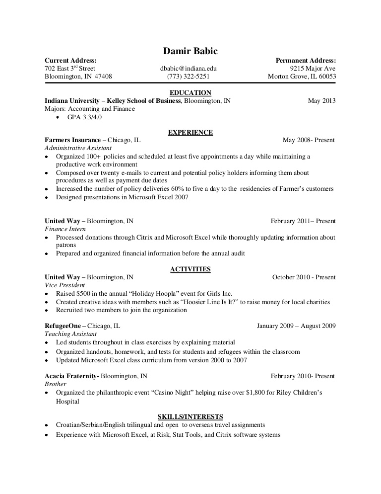 resume kelley school of business phpapp01 thumbnail spring boot sample elementary Resume Kelley School Of Business Resume