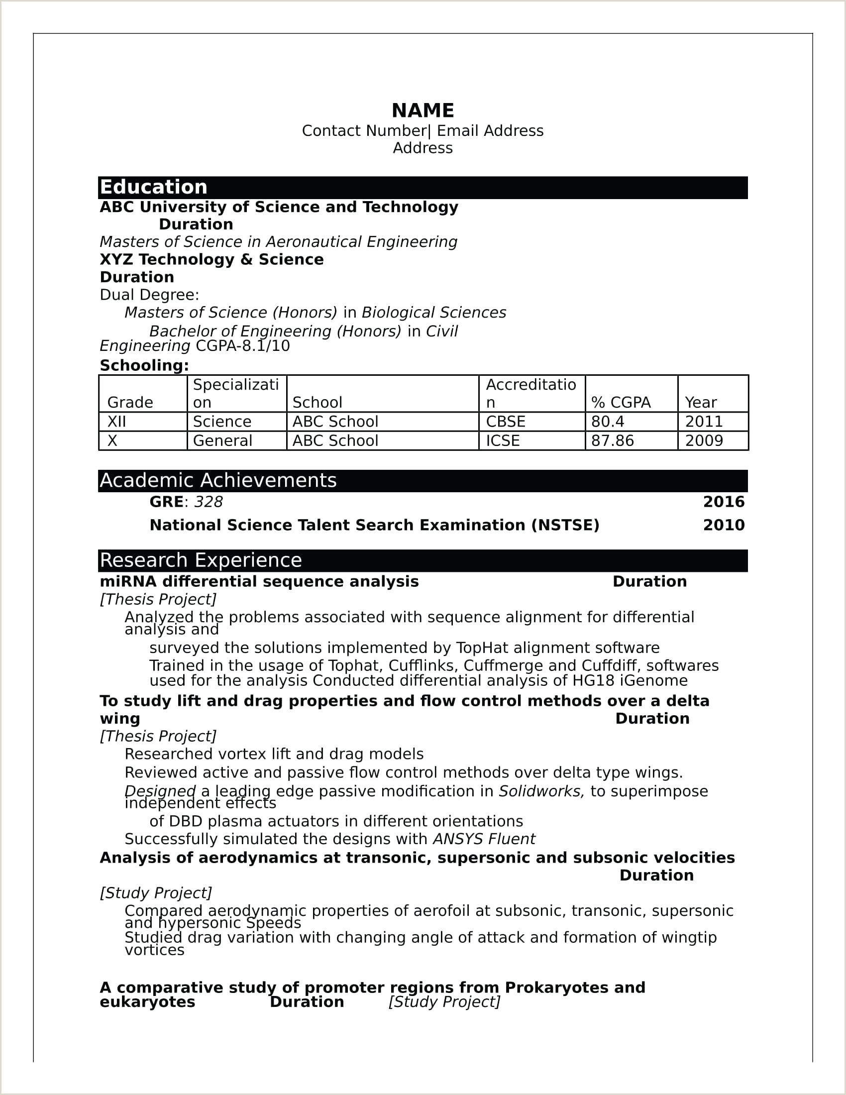 resume ma fresher format pdf in downloadable template word engineering templates selenium Resume Fresher Resume Templates Word