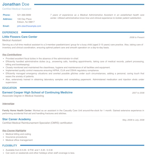 resume maker create standout professional and cv for students collegium farmer opt bank Resume Resume Maker For Students