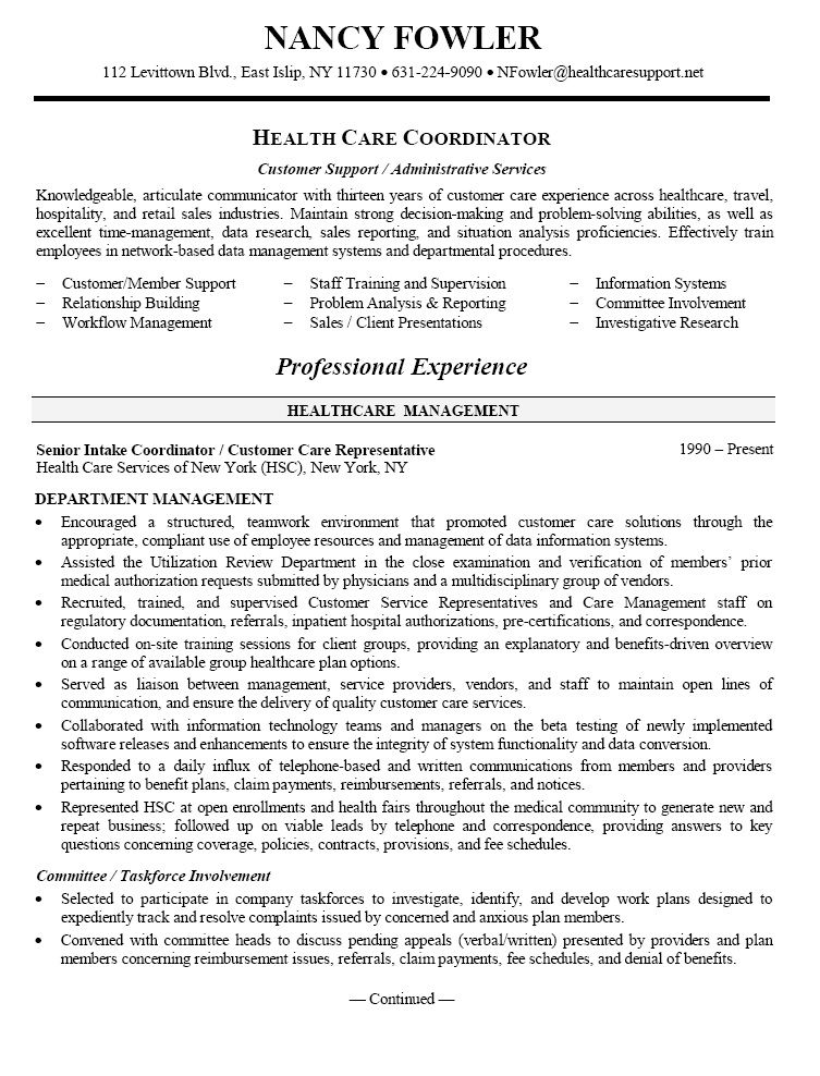 resume objective sample best examples for healthcare job accounting coordinator career Resume Resume Objective For Healthcare Job