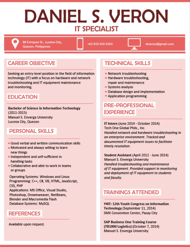 resume sample for fresh graduate in the best customer service call center objective etsy Resume Example Of Best Resume For Fresh Graduate