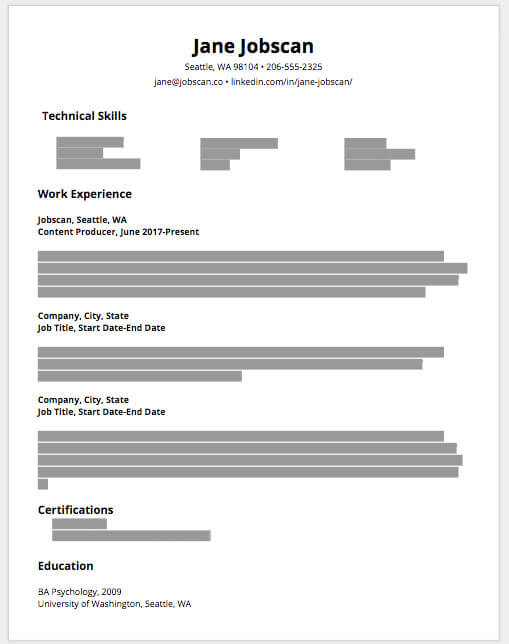 resume sections you need and them education portion of example salary requirements on Resume Education Portion Of Resume
