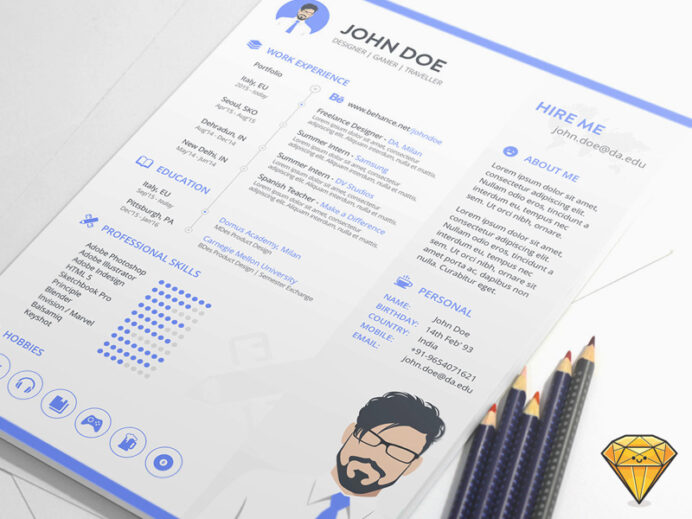 resume template for sketch freebie resource repo free asse ol templates with photo lmft Resume Sketch 3 Resume Template