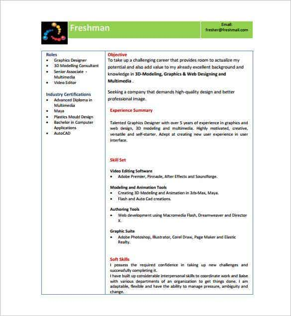 resume templates for freshers pdf free premium format with photo director fresher min Resume Free Download Simple Resume Format For Freshers