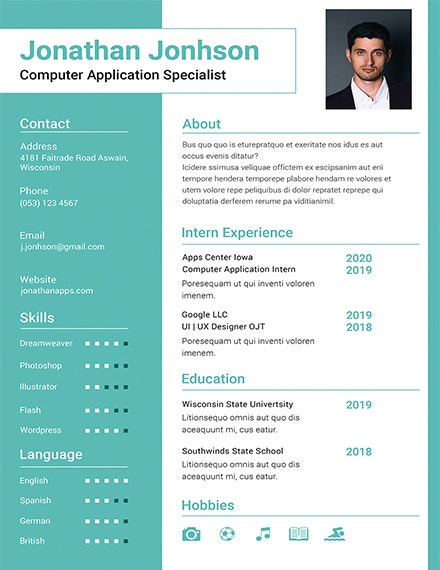 resume templates for freshers pdf free premium latest fresher template rural carrier Resume Latest Resume Templates For Freshers