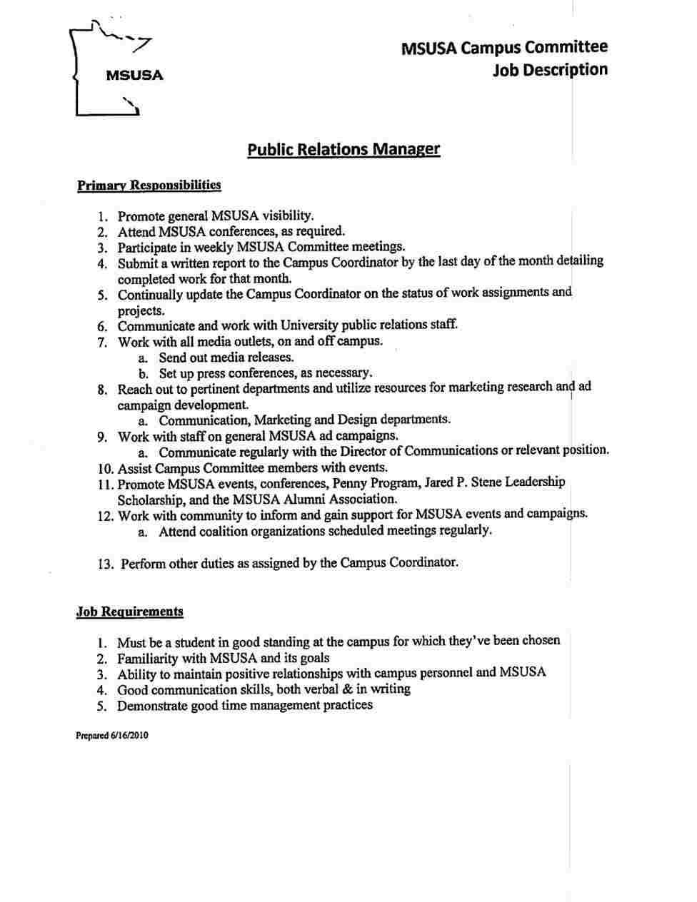 resume templates leadership position skills examples for free printable pmo manager demi Resume Resume For Leadership Position
