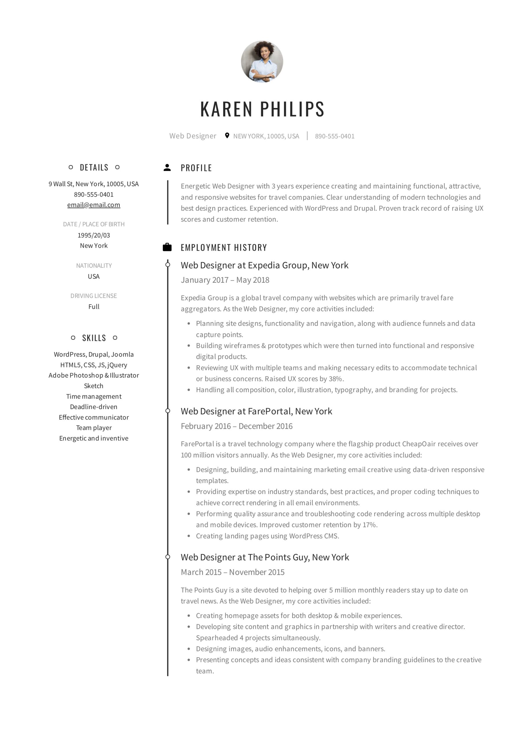 resume templates pdf word free downloads and guides can go to make karen philips web Resume Where Can I Go To Make A Resume