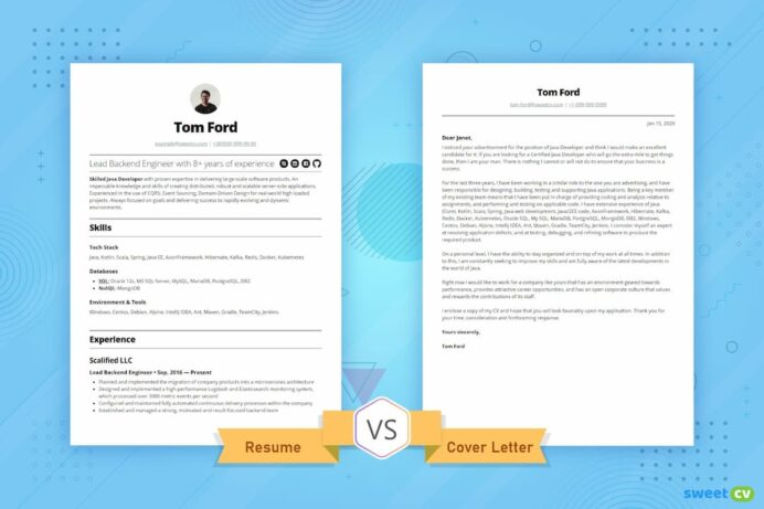 resume vs cover letter you need to know awesome letters for resumes coverletter opt1080 Resume Awesome Cover Letters For Resumes