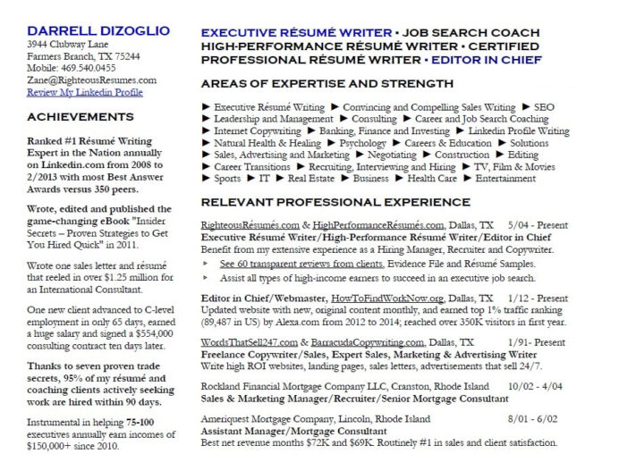 resume writing service in tx bob janitz fort executive writer cprw orig gas station Resume Executive Resume Writer