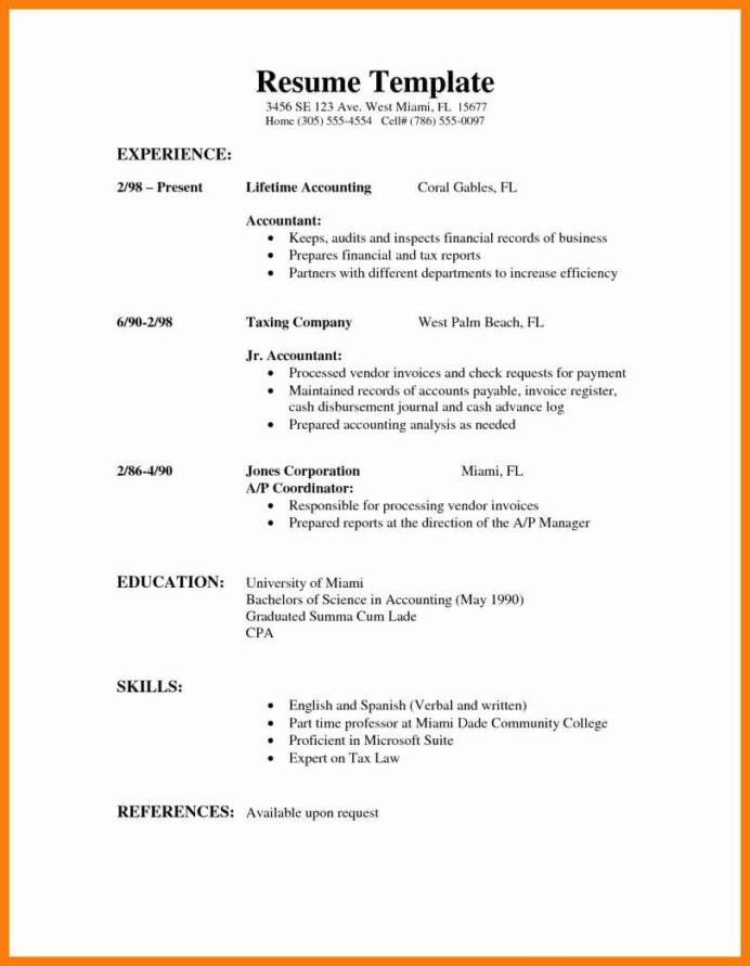resumes for high school students lovely part time job resume example in template examples Resume Part Time Job Resume Template