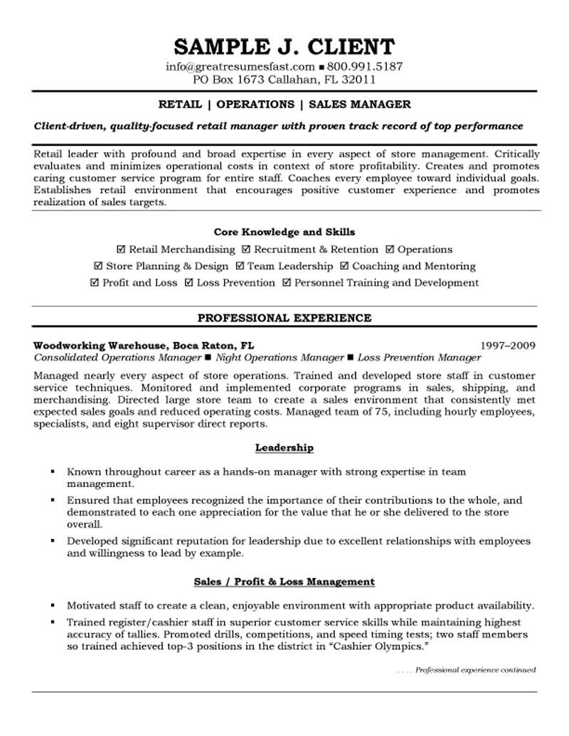 retail operations and manager resume examples free template hana security for college Resume Retail Manager Resume Examples