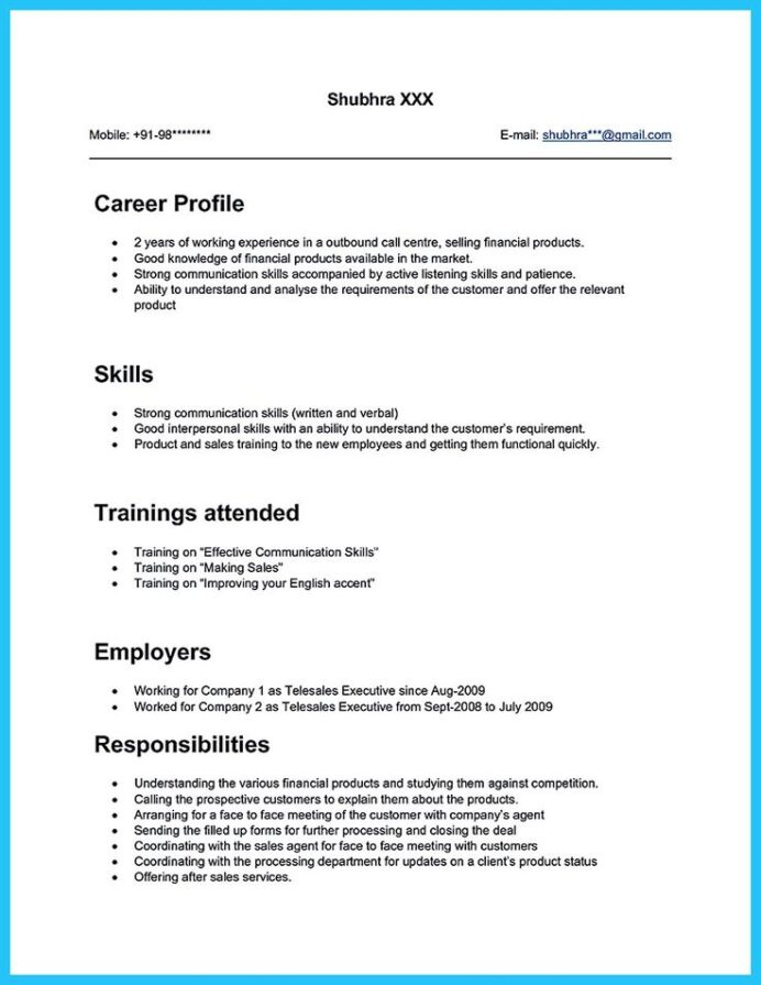 sample resume for call center agent applicant without experience hr coordinator cv Resume Call Center Experience Resume