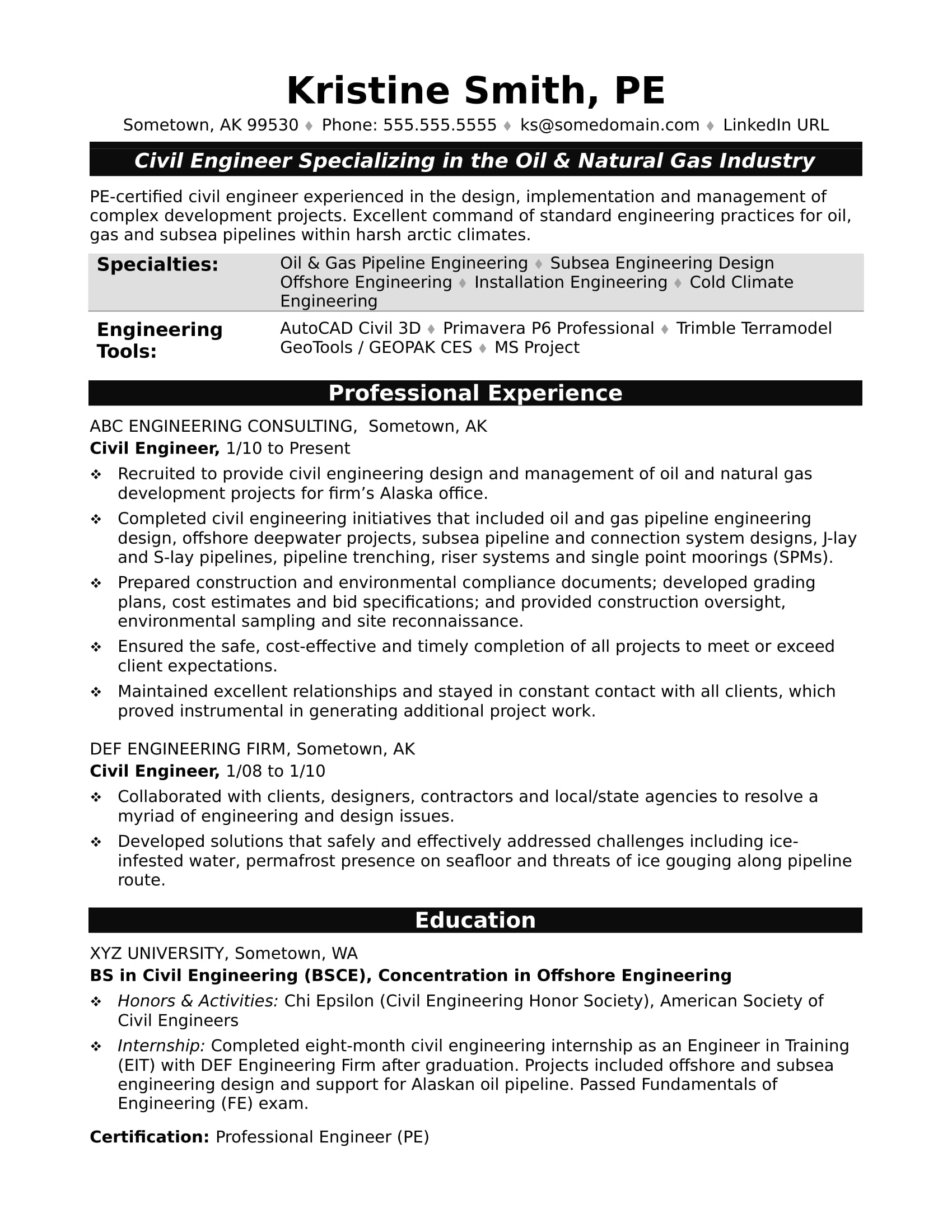 sample resume for midlevel civil engineer monster engineering examples dental office Resume Civil Engineering Resume Examples