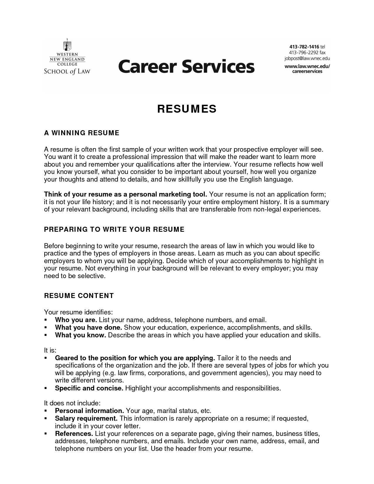 sample resume objective for college student latest example career statement samples and Resume Sample Resume For College Student