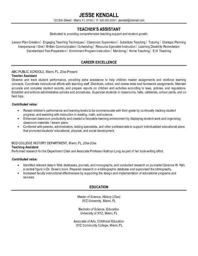 sample resume objectives for teacher assistant template objective does now cost money Resume Teacher Assistant Resume Objective