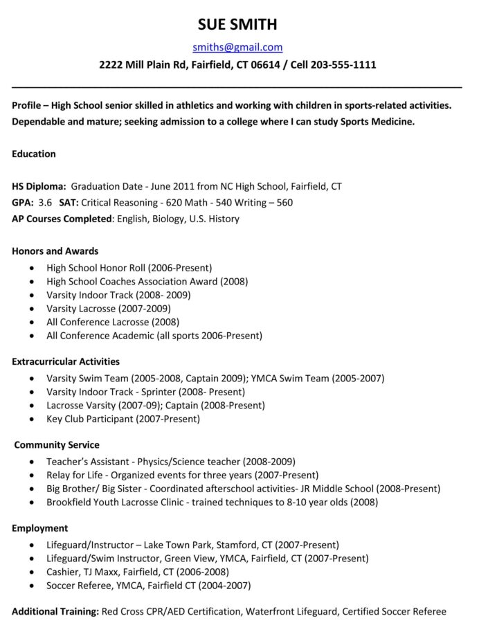 sample resumes high school resume template college application graduate for outline word Resume Another Word For Extracurricular Activities On Resume