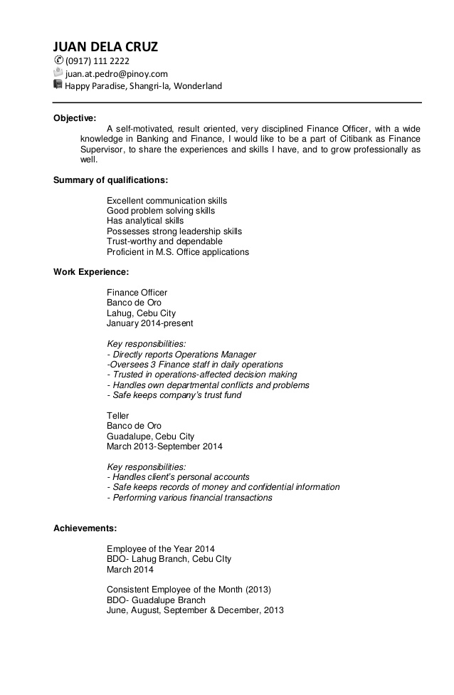 sample targeted resume template retail objective examples for bakery job masters student Resume Targeted Resume Template