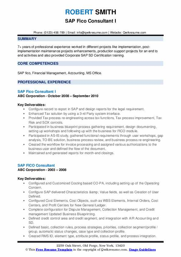 sap fico consultant resume samples qwikresume with years experience pdf sample business Resume Production Chemist Resume Sample