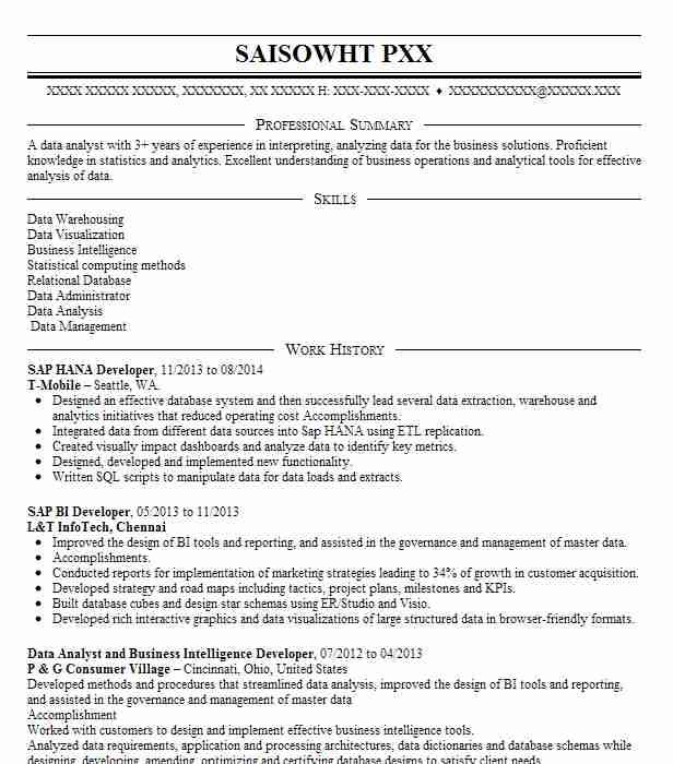 sap hana administrator resume example accenture llc bear for years experience front desk Resume Sap Hana Resume For 3 Years Experience