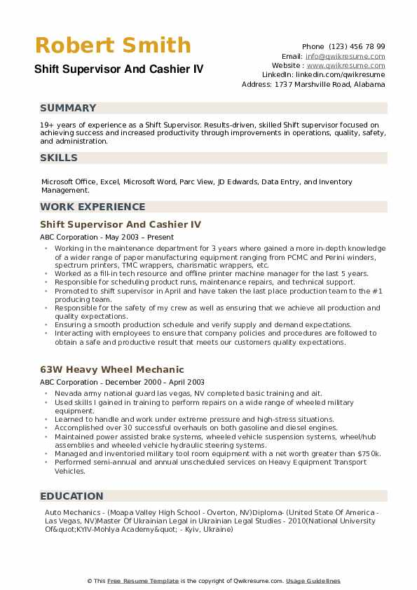 shift supervisor resume samples qwikresume pdf ios engineer respiratory therapist sample Resume Shift Supervisor Resume
