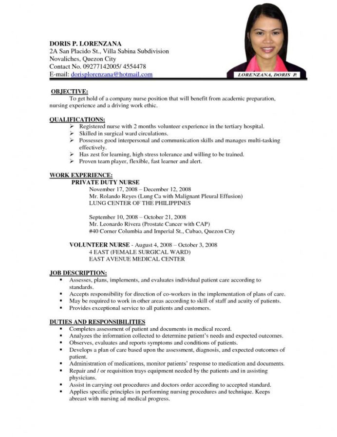 simple sample resume for job application best examples apply format should put waiter or Resume Best Example Of Resume For Job Application