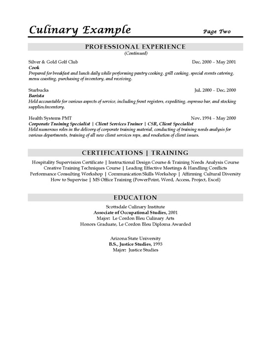 sous chef resume example free samples sample chef1b substitute teacher job description Resume Teacher Job Description For Resume