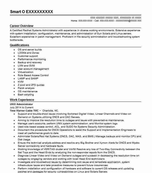sr unix linux administrator resume example jp newark year experience office admin Resume Linux Administrator Resume 4 Year Experience