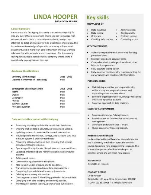 student entry level data resume template for position pic rodbuster finance objective Resume Data Entry Objective Resume Sample