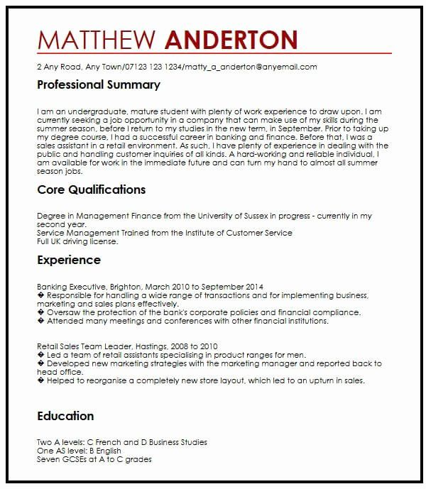 student job part time resume sample best examples for college sheet accomplishment based Resume Resume For Part Time Job College Student