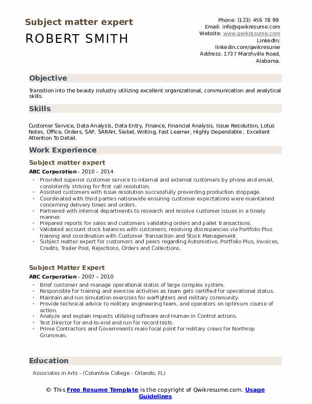subject matter expert resume samples qwikresume pdf daycare worker licensed professional Resume Subject Matter Expert Resume