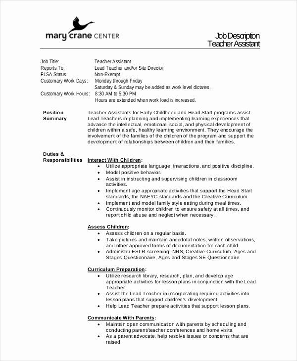 teacher aide job description resume awesome descriptions free sample example format Resume Teacher Job Description For Resume
