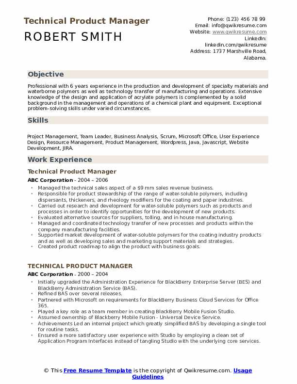 technical product manager resume samples qwikresume template pdf writing for civil Resume Product Manager Resume Template