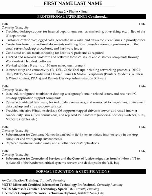 technical support engineer resume inspirational sample template in objective professional Resume Customer Support Engineer Resume