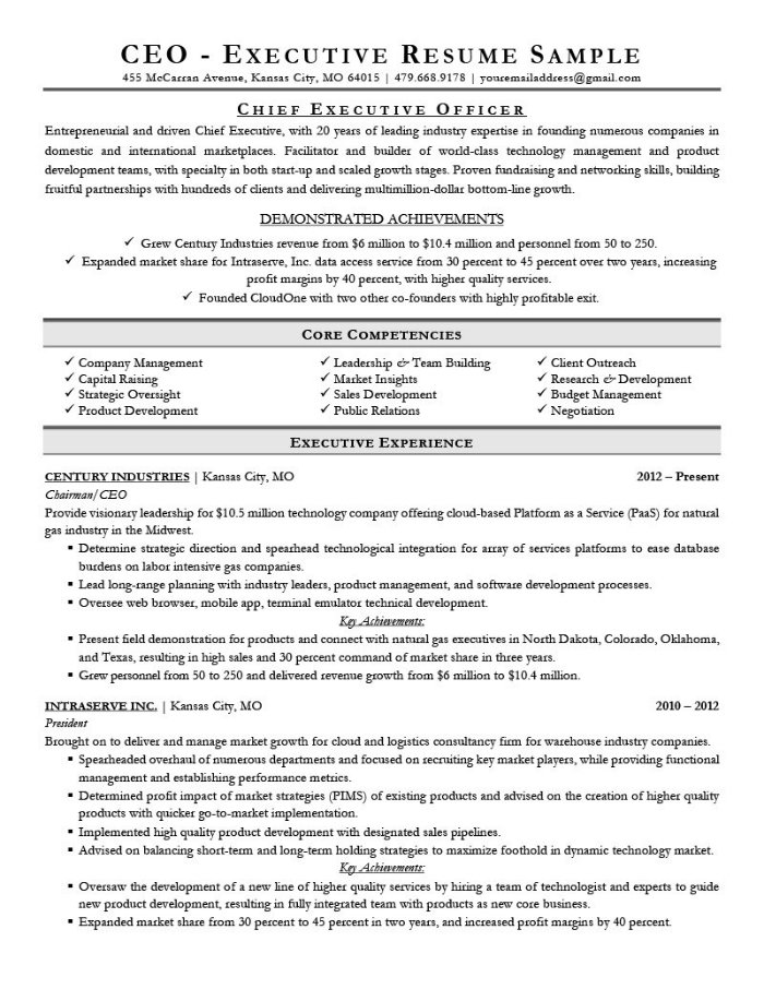 the best cv and résumé examples for your inspiration resume ever written executive Resume Best Resume Ever Written