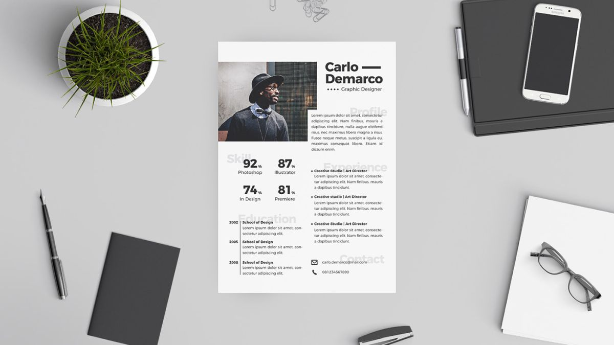 the best free resume templates creative bloq well designed x7ezkjaxba49yzgdapcded great Resume Well Designed Resume Templates