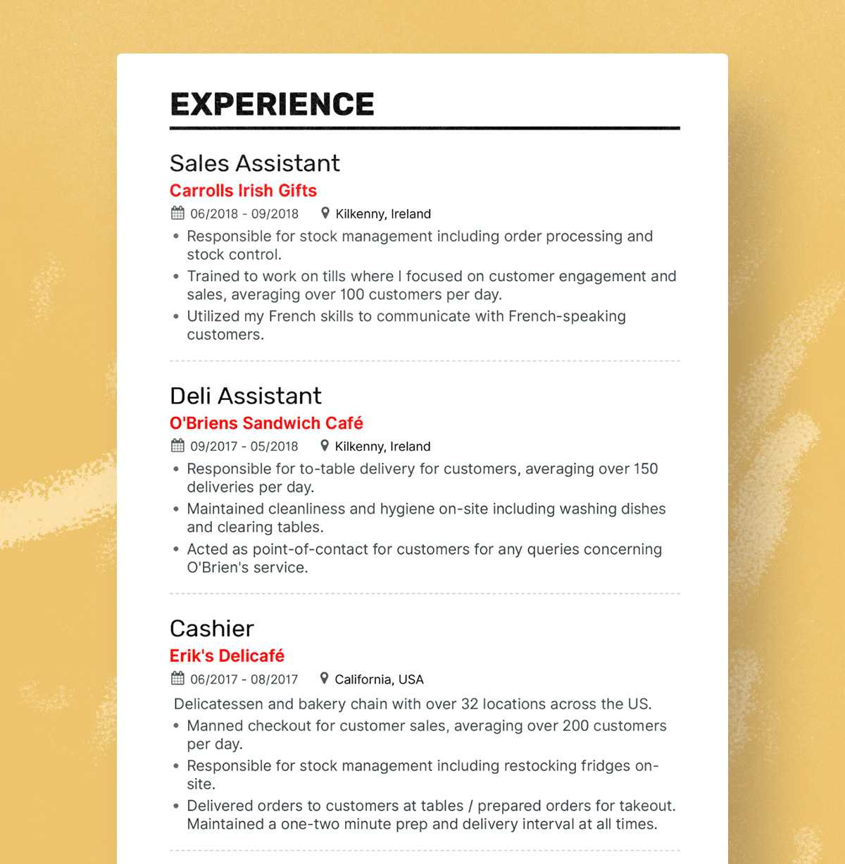 the best fresher resume formats and samples example of for fresh graduate hannah Resume Example Of Best Resume For Fresh Graduate