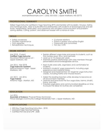 the best resume formats for myperfectresume recommended format guide project management Resume Recommended Resume Format
