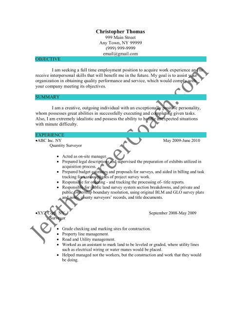 the quantity surveyor resume sample three in pdf land strong synonym for computer lab Resume Strong Synonym For Resume