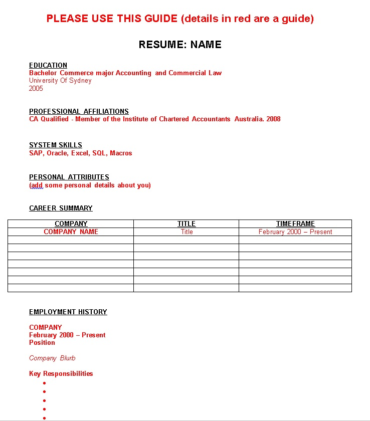 things you must have on the first of your resume reo group professional accomplishments Resume Things A Resume Must Have