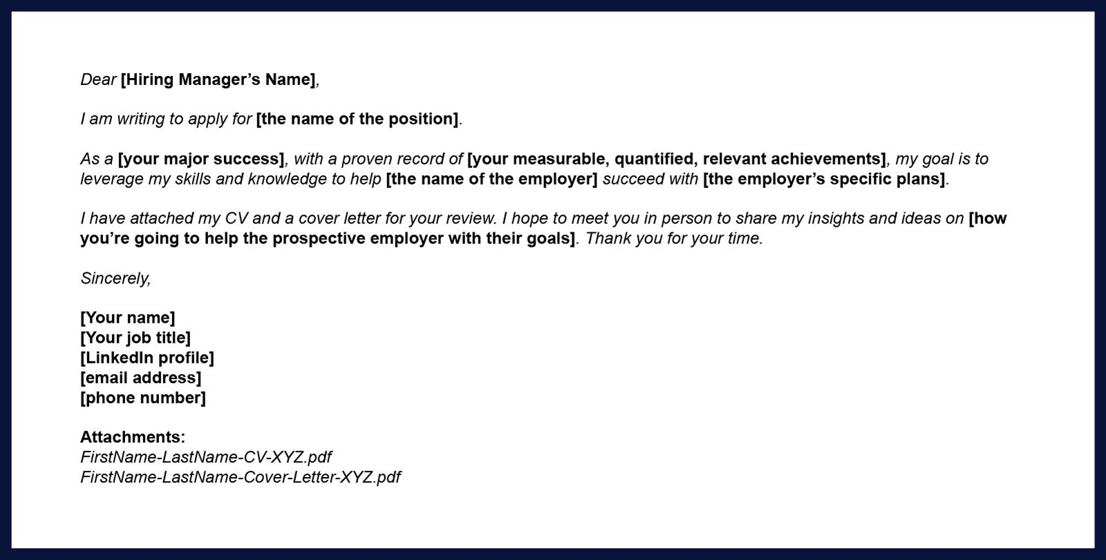 tips for sending your cv via email topcv body resume example should you include Resume Email Body For Sending Resume Example